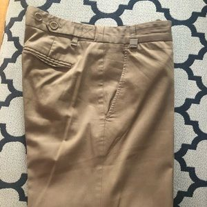 Bcbg tan slacks